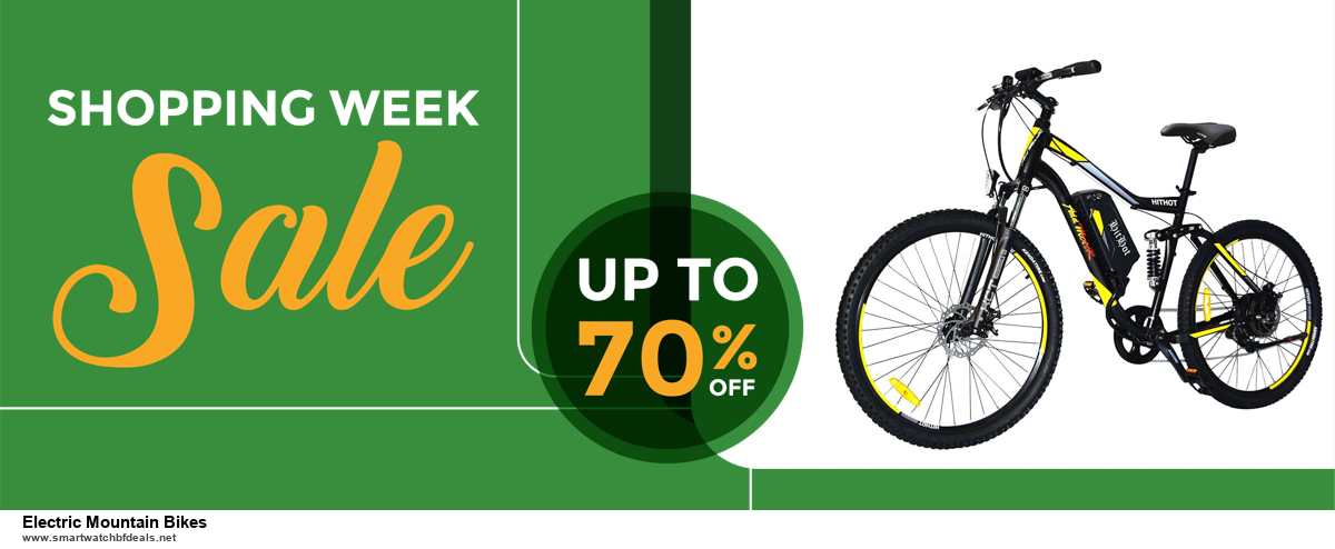 Top 11 Black Friday and Cyber Monday Electric Mountain Bikes 2020 Deals Massive Discount
