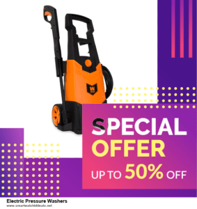 List of 10 Best Black Friday and Cyber Monday Electric Pressure Washers Deals 2020