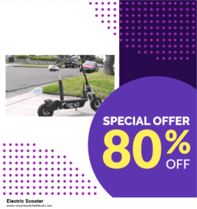 9 Best Electric Scooter Black Friday 2020 and Cyber Monday Deals Sales