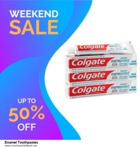 9 Best Black Friday and Cyber Monday Enamel Toothpastes Deals 2020 [Up to 40% OFF]
