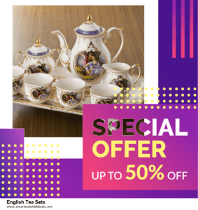 10 Best Black Friday 2020 and Cyber Monday  English Tea Sets Deals | 40% OFF