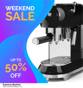 List of 6 Espresso Machine Black Friday 2020 and Cyber MondayDeals [Extra 50% Discount]