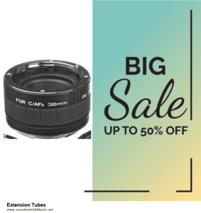 13 Exclusive Black Friday and Cyber Monday Extension Tubes Deals 2020