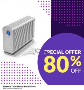 Top 5 Black Friday 2020 and Cyber Monday External Thunderbolt Hard Drives Deals [Grab Now]