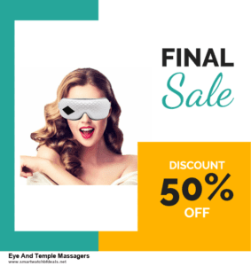 5 Best Eye And Temple Massagers Black Friday 2020 and Cyber Monday Deals & Sales