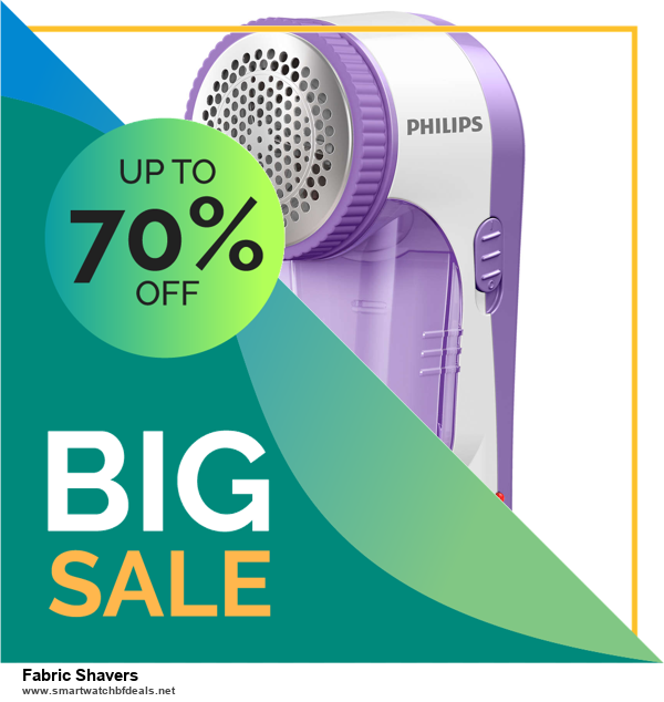 6 Best Fabric Shavers Black Friday 2020 and Cyber Monday Deals | Huge Discount