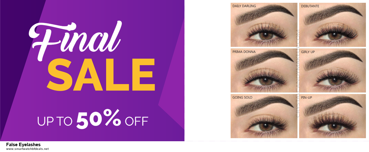 Top 5 Black Friday and Cyber Monday False Eyelashes Deals 2020 Buy Now