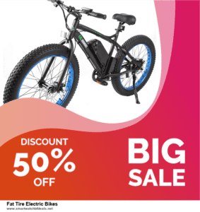 Grab 10 Best Black Friday and Cyber Monday Fat Tire Electric Bikes Deals & Sales