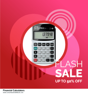 7 Best Financial Calculators Black Friday 2020 and Cyber Monday Deals [Up to 30% Discount]