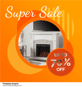 9 Best Fireplace Inserts Black Friday 2020 and Cyber Monday Deals Sales