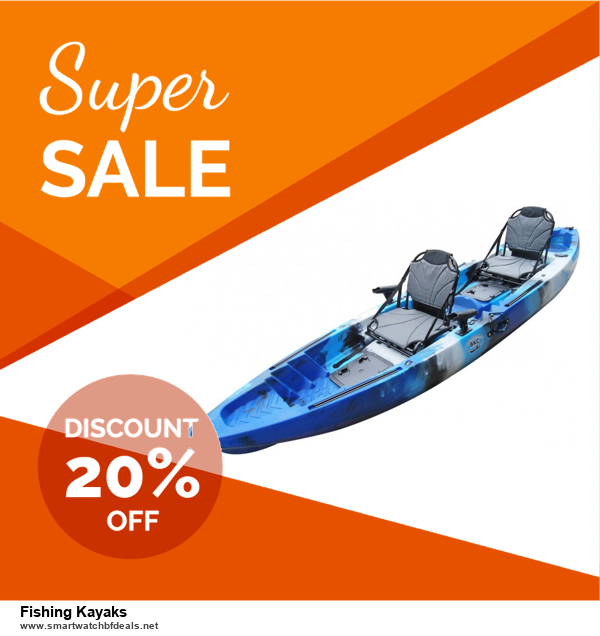 9 Best Black Friday and Cyber Monday Fishing Kayaks Deals 2020 [Up to 40% OFF]