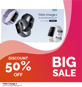 9 Best Fitbit Charge 3 Black Friday 2020 and Cyber Monday Deals Sales