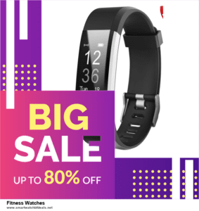 Top 10 Fitness Watches Black Friday 2020 and Cyber Monday Deals