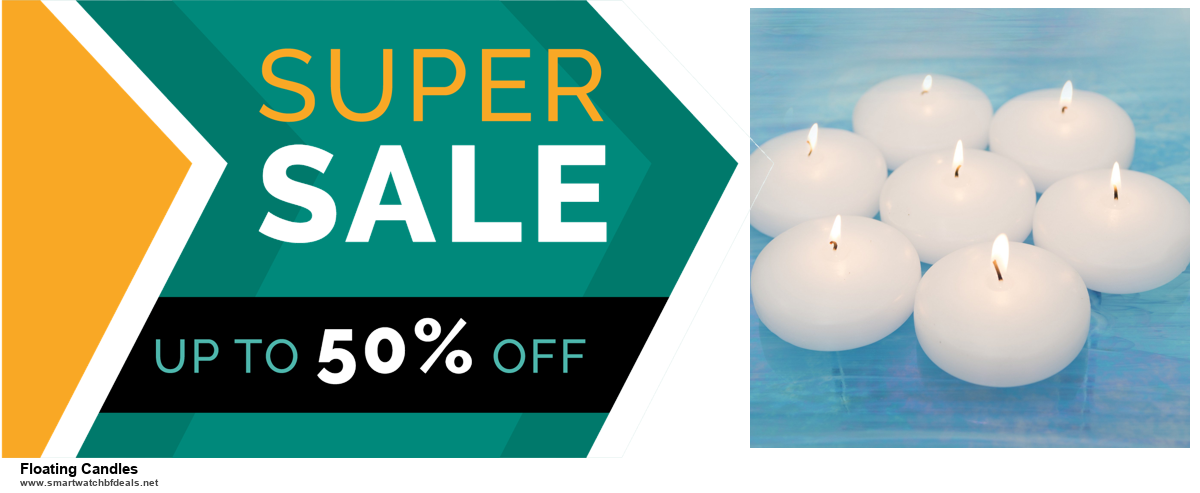 5 Best Floating Candles Black Friday 2020 and Cyber Monday Deals & Sales
