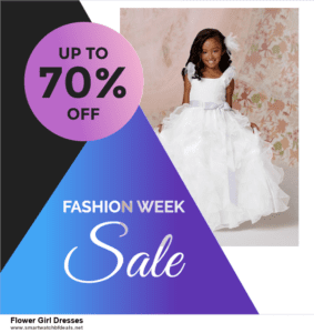 Top 10 Flower Girl Dresses Black Friday 2021 and Cyber Monday Deals