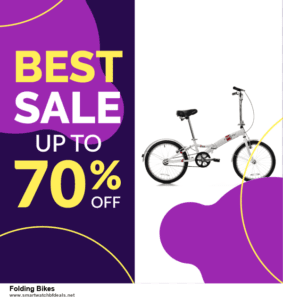 List of 6 Folding Bikes Black Friday 2020 and Cyber MondayDeals [Extra 50% Discount]