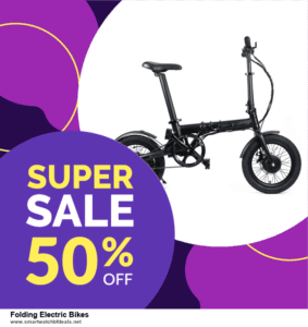 Top 10 Folding Electric Bikes Black Friday 2020 and Cyber Monday Deals