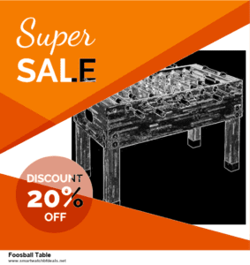 6 Best Foosball Table Black Friday 2020 and Cyber Monday Deals | Huge Discount