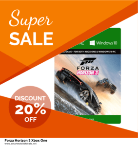 List of 6 Forza Horizon 3 Xbox One Black Friday 2020 and Cyber MondayDeals [Extra 50% Discount]