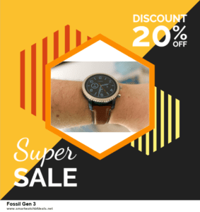 Top 10 Fossil Gen 3 Black Friday 2020 and Cyber Monday Deals