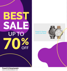 Grab 10 Best Black Friday and Cyber Monday Fossil Q Smartwatch Deals & Sales