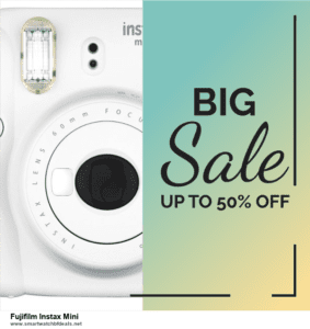 5 Best Fujifilm Instax Mini Black Friday 2020 and Cyber Monday Deals & Sales