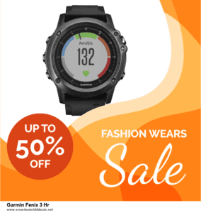 13 Best Black Friday and Cyber Monday 2020 Garmin Fenix 3 Hr Deals [Up to 50% OFF]