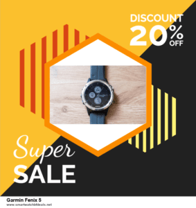 7 Best Garmin Fenix 5 Black Friday 2020 and Cyber Monday Deals [Up to 30% Discount]