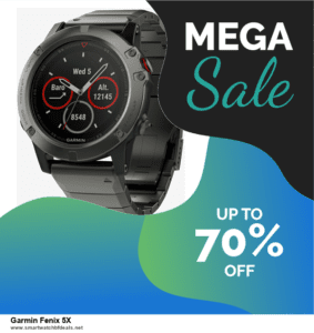 Top 5 Black Friday 2020 and Cyber Monday Garmin Fenix 5X Deals [Grab Now]