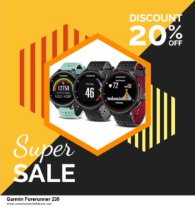 Top 5 Black Friday 2020 and Cyber Monday Garmin Forerunner 235 Deals [Grab Now]