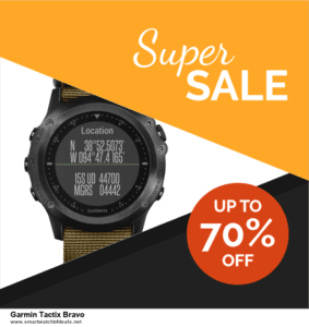 Top 5 Black Friday 2020 and Cyber Monday Garmin Tactix Bravo Deals [Grab Now]