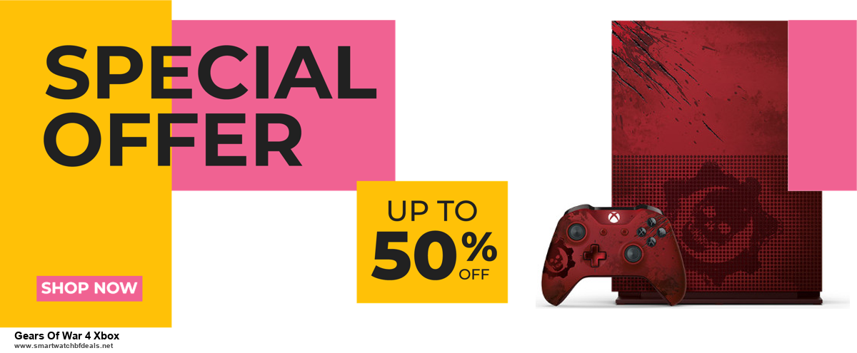 7 Best Gears Of War 4 Xbox Black Friday 2020 and Cyber Monday Deals [Up to 30% Discount]