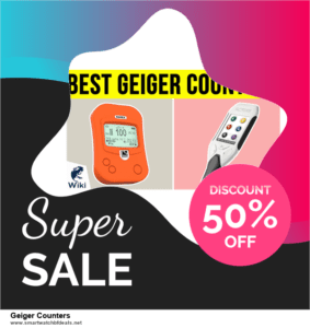 Top 10 Geiger Counters Black Friday 2020 and Cyber Monday Deals