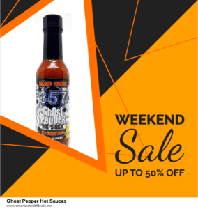 Top 11 Black Friday and Cyber Monday Ghost Pepper Hot Sauces 2021 Deals Massive Discount