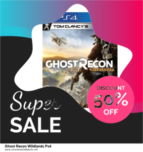 Top 10 Ghost Recon Wildlands Ps4 Black Friday 2020 and Cyber Monday Deals