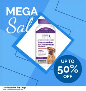 9 Best Black Friday and Cyber Monday Glucosamine For Dogs Deals 2020 [Up to 40% OFF]