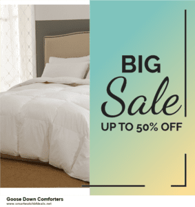 List of 6 Goose Down Comforters Black Friday 2020 and Cyber MondayDeals [Extra 50% Discount]