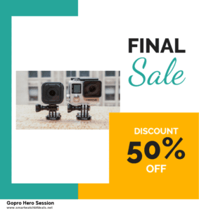 List of 10 Best Black Friday and Cyber Monday Gopro Hero Session Deals 2020