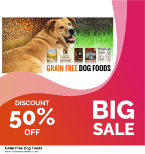 5 Best Grain Free Dog Foods Black Friday 2020 and Cyber Monday Deals & Sales