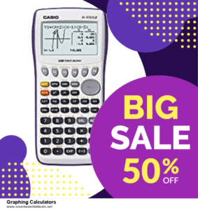 List of 10 Best Black Friday and Cyber Monday Graphing Calculators Deals 2020