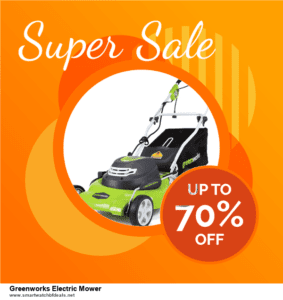 10 Best Greenworks Electric Mower Black Friday 2020 and Cyber Monday Deals Discount Coupons