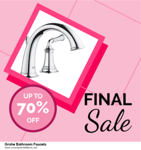 6 Best Grohe Bathroom Faucets Black Friday 2020 and Cyber Monday Deals   Huge Discount