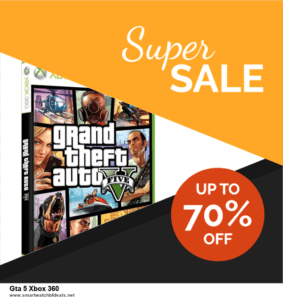 Grab 10 Best Black Friday and Cyber Monday Gta 5 Xbox 360 Deals & Sales