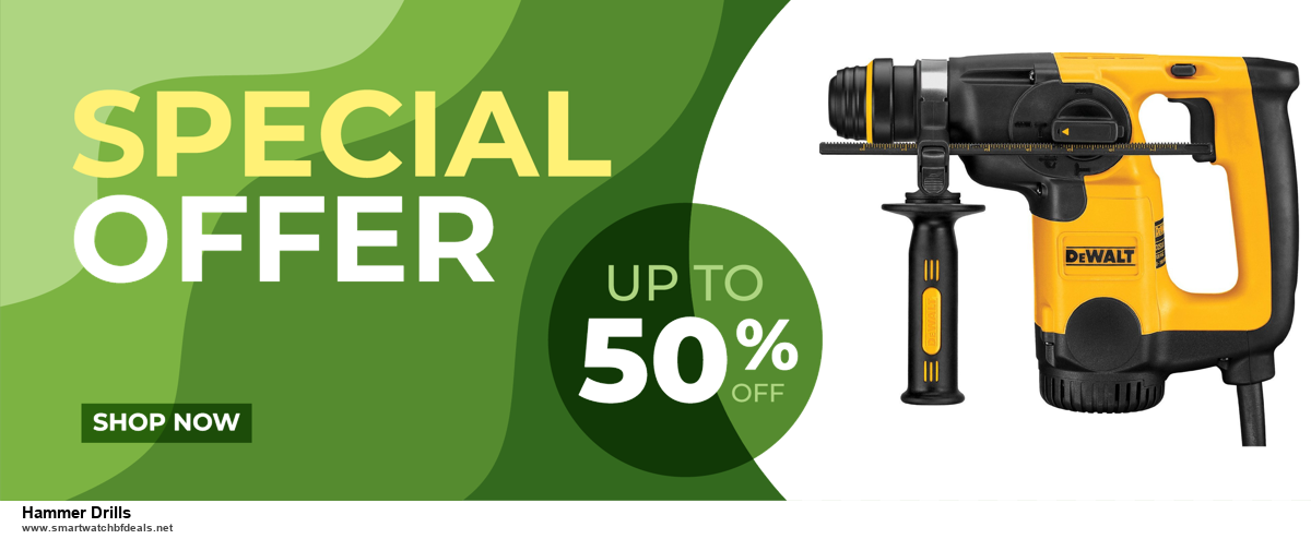 Top 5 Black Friday and Cyber Monday Hammer Drills Deals 2020 Buy Now