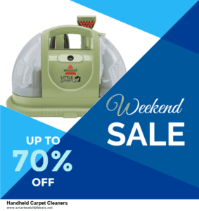 10 Best Black Friday 2020 and Cyber Monday  Handheld Carpet Cleaners Deals   40% OFF