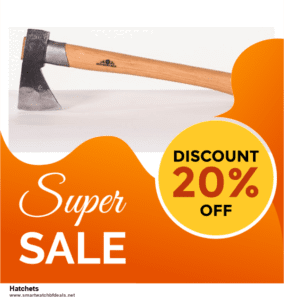9 Best Black Friday and Cyber Monday Hatchets Deals 2020 [Up to 40% OFF]