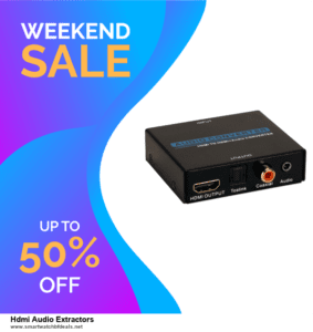 6 Best Hdmi Audio Extractors Black Friday 2020 and Cyber Monday Deals | Huge Discount
