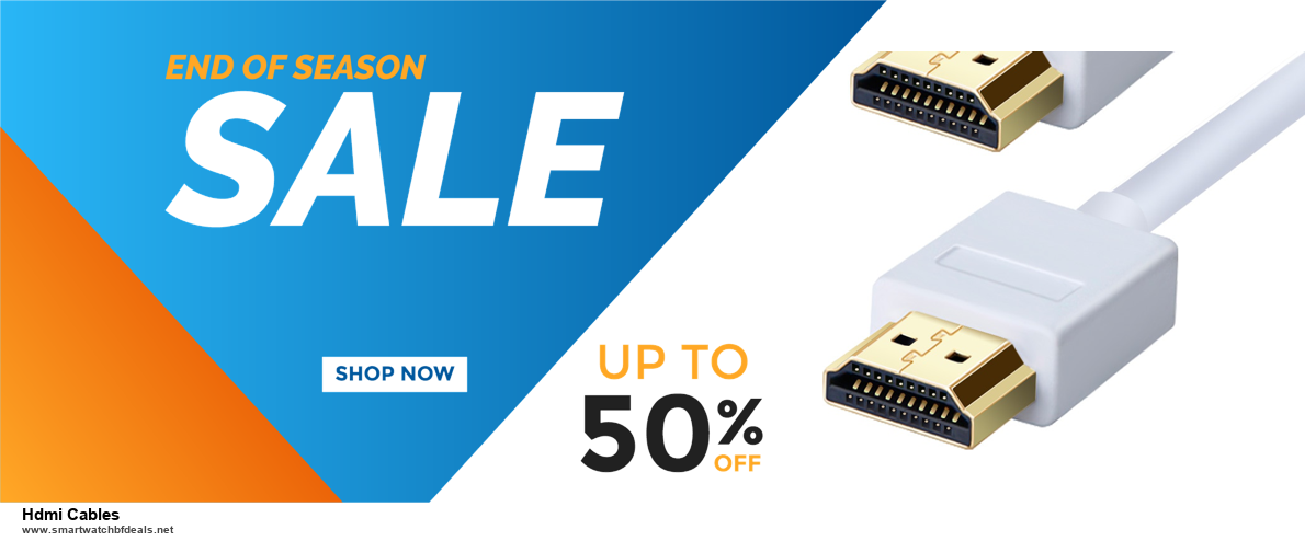 7 Best Hdmi Cables Black Friday 2020 and Cyber Monday Deals [Up to 30% Discount]