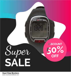 List of 6 Heart Rate Monitors Black Friday 2020 and Cyber MondayDeals [Extra 50% Discount]