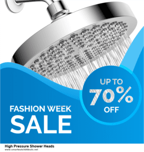 Top 10 High Pressure Shower Heads Black Friday 2020 and Cyber Monday Deals